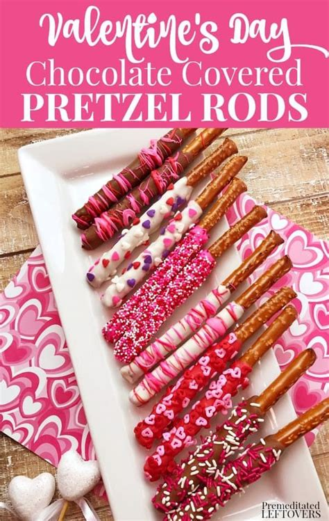 Valentine Chocolate Pretzels