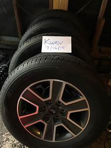 2015 Oem 18 U0026quot  Fx4 Wheels And Tires