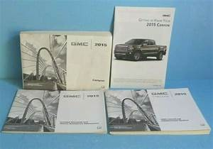 15 2015 Gmc Canyon Owners Manual With Navigation