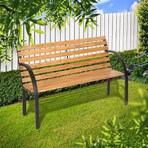 Banc De Jardin Bois : banc de jardin bois de pin cielterre commerce ~ Dode.kayakingforconservation.com Idées de Décoration