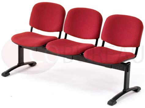 siege d accueil siège accueil poutre 3 places smart tissu