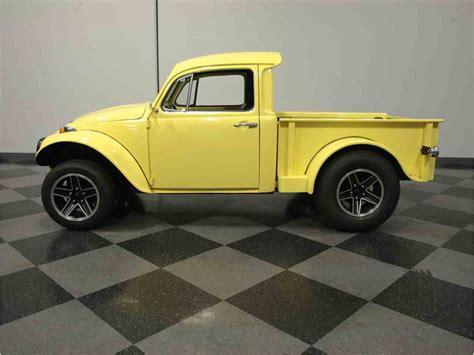 volkswagen bug truck 1970 volkswagen baja beetle truck for sale classiccars