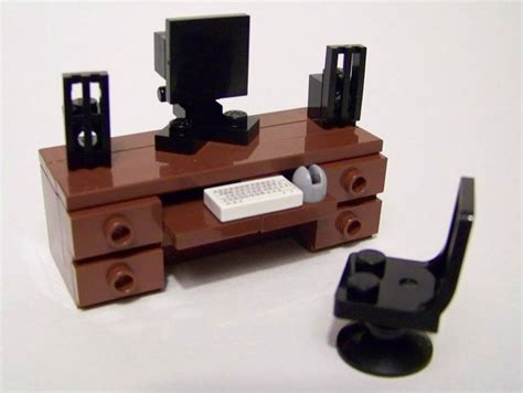 lego furniture computer desk set w desk