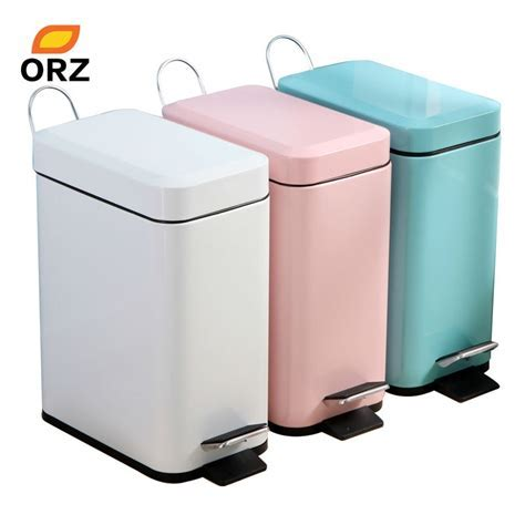 ORZ Trash Can Bathroom Kitchen Living Room Office 5L