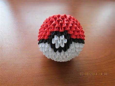 Origami Pokeball Tutorial Youtube Crafty