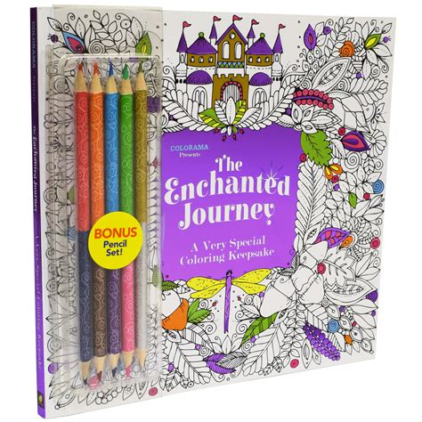 tv colorama enchanted journey coloring book