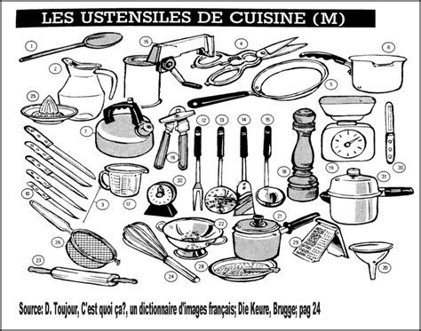 ustensible cuisine les ustensiles de la cuisine pictures