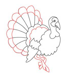 turkey drawings