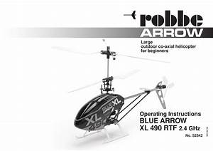 Robbe Blue Arrow Xl 490 Operating Instructions