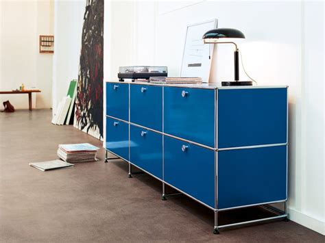 Usm Sideboard by Usm Haller Credenza In Gentian Blue Www Usm Usm At