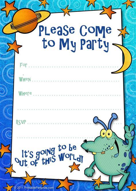 birthday invitation : Birthday invitation card template