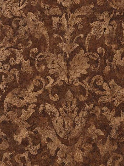 gold  brown damask wallpaper gallery