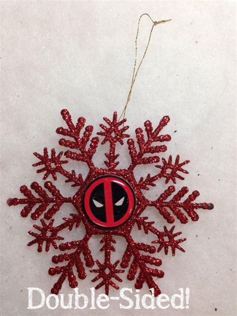 deadpool christmas ornament  crazylilydesigns  etsy