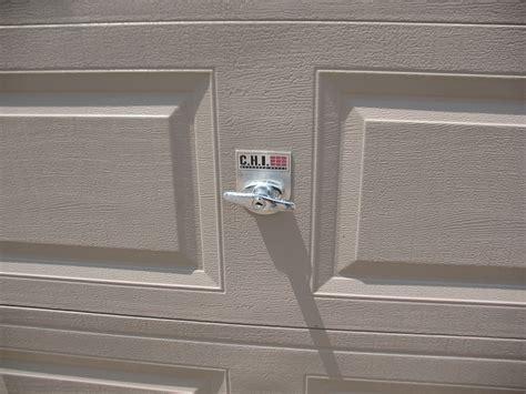 how to lock garage door how to install garage door locks dan s garage door