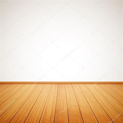 wall floor realistic wood floor and white wall stock vector 169 makeitdouble 27727001