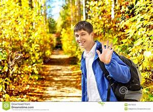 Young Man Wave Goodbye Stock Images - Image: 26376234