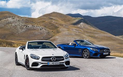 2016 Mercedes Amg Sl63 Sl65 Wallpaper