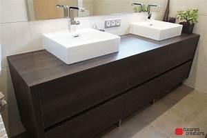 meuble salle de bain fait maison maison design bahbecom With carreau de platre salle de bain