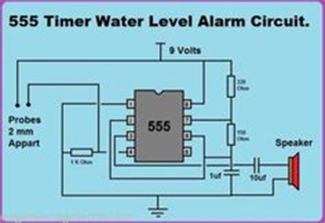 simple water sensor circuit diagram using ic 555 electrical concepts simple