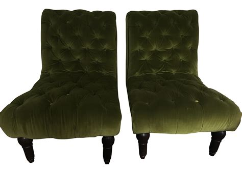 Vintage Green Tufted Slipper Chairs Vacation Home Rentals In Kissimmee Fl Near Disney World Orlando Florida Decor Small Living Room Homes For Sale Wisconsin Colorado Springs Keys Best Designed
