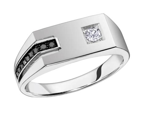 brilliant gold jewellery mens ring  white gold mens