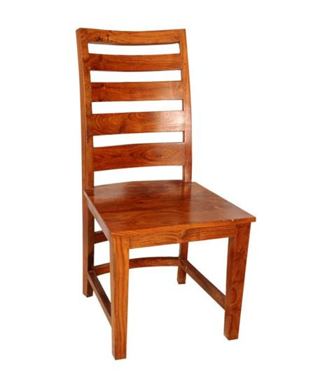 sheesham wood regular dining chair buy at best