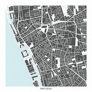 Liverpool Map Art Print - Limited Edition Prints