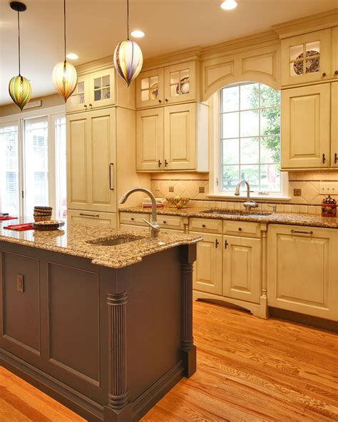 kitchen cabinets with legs nice view of the hand blown pendant lights sink base