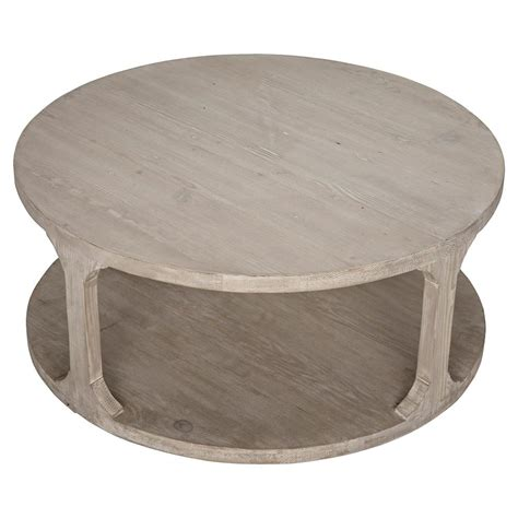 25 best ideas about coastal style on pinterest. Talbot Rustic Lodge Grey Wash Reclaimed Wood Round Round Coffee Table - Small