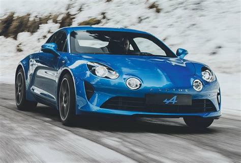 Say Hello To The New Alpine A110, Renault's Porsche Cayman ...