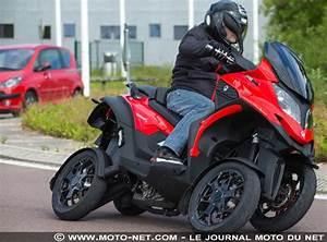 Moto A 3 Roues : tous les tests essai scooter 4 roues quadro4 la quadroture du cercle ~ Medecine-chirurgie-esthetiques.com Avis de Voitures