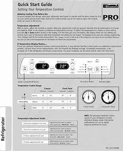 Kenmore Pro Side By Refrigerator Manual L0608557