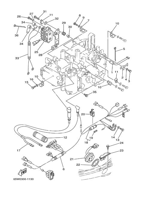 25 Hp Yamaha Outboard Wiring Diagram by Wiring Diagram Tilt Swich For 25hp 4 Stroke Outboard