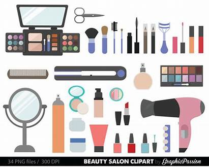 Clipart Beauty Clip Cosmetic Girly Supply Makeup
