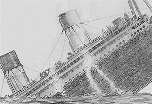 The Titanic Sinking Drawing | www.imgkid.com - The Image ...