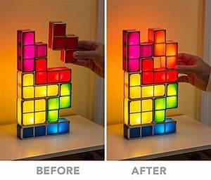 Tetris LED Lampe Zum Stapeln GamerGirls