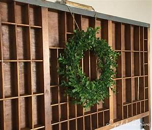 how to make a wreath using goodwill finds With what kind of paint to use on kitchen cabinets for dog blueprint wall art