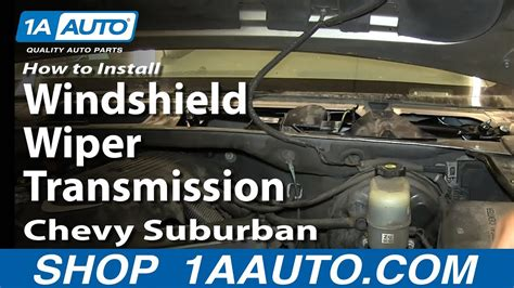 transmission control 2004 chevrolet suburban 2500 windshield wipe control how to replace windshield wiper transmission 99 03 chevy silverado 1a auto