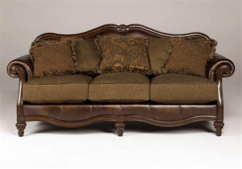 claremore antique sofa loveseat set claremore antique sofa set louisville overstock warehouse