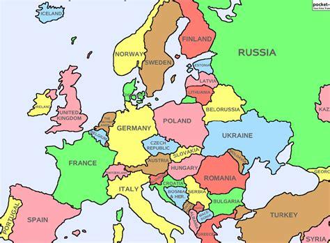 Carte De L Europe 2017 by Carte Europe 2016 Carte 2018