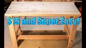 Build, A, Super, Cheap, And, Easy, Desk