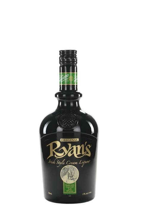 ryans irish cream ml cellarcom