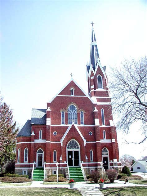 Sacred Heart Catholic Farmer City Il 1929 Hinners Opus