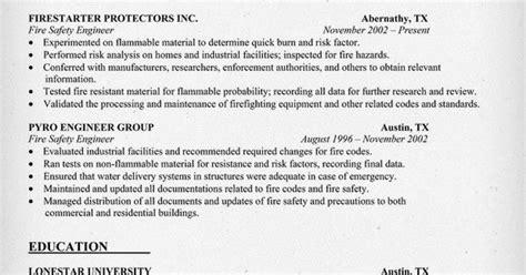 safety engineering resume sle resumecompanion