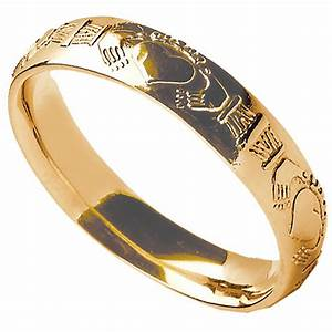 claddagh ring men39s claddagh court wedding band at With claddagh wedding rings for men
