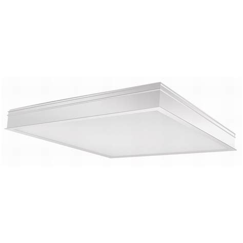 rab panel2x2 34n surface mount recessed led panel light