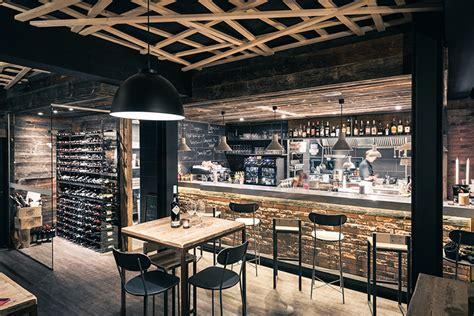cuisine style bistrot ristorante svizzera design industriale sestini corti