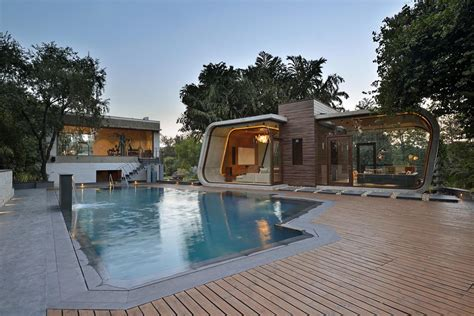 beautiful indian homes interiors minimalist pool house 3