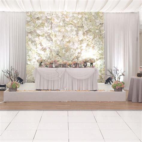 flower wall backdrop wedding lounge