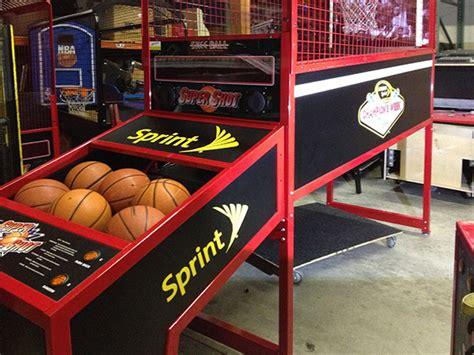 super shot ii basketball sport game rental video